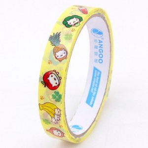 Kawaii Angoo Medium Deco Tape San-X Nyanko NEW