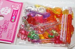 Kawaii Japan Japanese Obento Bento Short Picks NEW