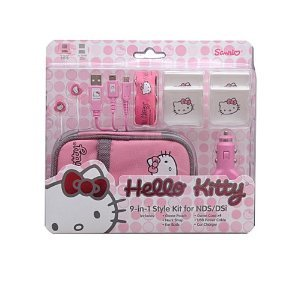 Kawaii Sanrio Hello Kitty 9-in-1 Style Kit Nintendo NDS/DSi NIP