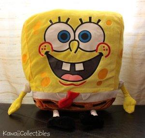 """SpongeBob SquarePants Sponge Bob Square Pants Plush 22"""" x 14"""" NEW"""