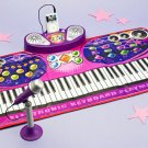 MP3 Piano with Microphone - Keyboard Playmat