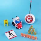 Remote Control STUNT GRANNY Racer RC R/C Car Toy Set