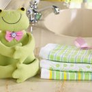 4-Pc. Springtime Spring Easter Gift Towel Set - Frog
