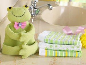 4-Pc. Springtime Spring Easter Gift Towel Set - Frog
