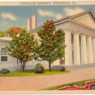 Custis-Lee Mansion, Arlington, VA Vintage Postcard circa 1930s  #0021