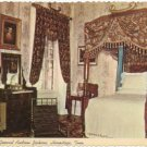 Bedroom Andrew Jackson Home, Hermitage, TN Postcard  1976   #0115