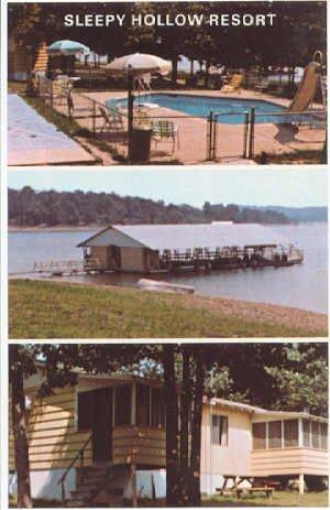 Sleepy Hollow Resort, Kimberling City, MO Postcard  #0139