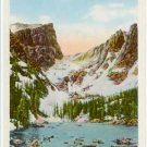 Dream Lake, Estes Park, Rocky Mountain National Park, Colorado  CO Postcard circa 1930s  #0063