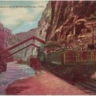 Observation Car, Royal Gorge CO vintage Postcard Train  circa 1910  #0164