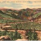 Lariat Trail, Lookout Mountain, Denver Mountain Parks  Denver, CO Postcard Circa 1930s  #0237