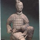 Kneeling Archer, Great Bronze Age of China People's Republic of China exhibition Art Postcard  #0116