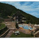 Chalet Motel Gatlinburg, Tennessee  TN Postcard Circa 1960s Triple A Logo  #0298