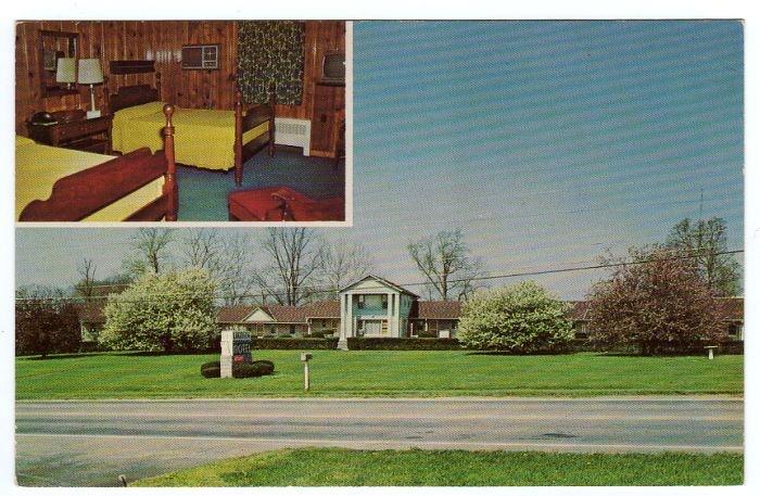 Lakeview Motel Campbellsville, Kentucky KY Postcard circa 1960s #0297