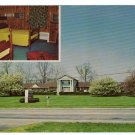 Lakeview Motel Campbellsville, Kentucky KY Postcard circa 1960s #0297
