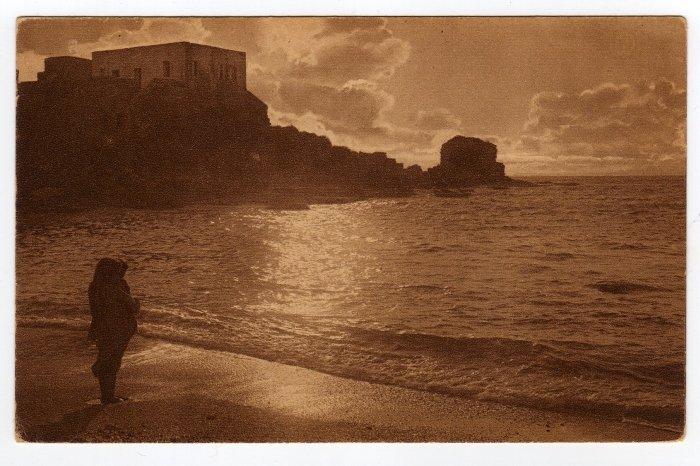 The Ruins of Cesarea Palestine Postcard Jamal Bros. Photo S. Narinsky 1921   #0248