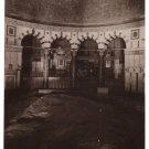 The Rock Mosque of Omar  Black and White RPPC Jerusalem  Palestine    #0309