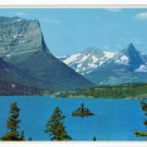 St. Mary Lake with Goose Island in Glacier National Park, Montana Postcard  #0327