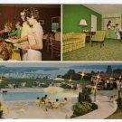 Ramada Hilltop Natchez, Mississippi multi-view Postcard 1970s   #0331