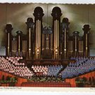 World Famous Tabernacle Choir and Organ Utah Postcard   #0332