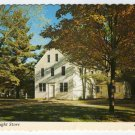 Asa Knight Store, Old Sturbridge Village, MA  Dummerston, VT Postcard  #0353