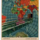 Mapparium  Christian Science Publishing House  Boston, MA Postcard  #0346