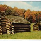 Continental Army Huts Valley Forge, PA Postcard #0354