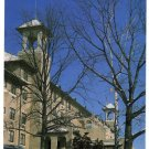 Hotel Hershey, side view of the front entrance in snow  Hershey, PA Postcard #0362