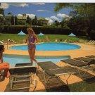 Hotel Hershey, view from pool side  Hershey, PA Postcard #0363
