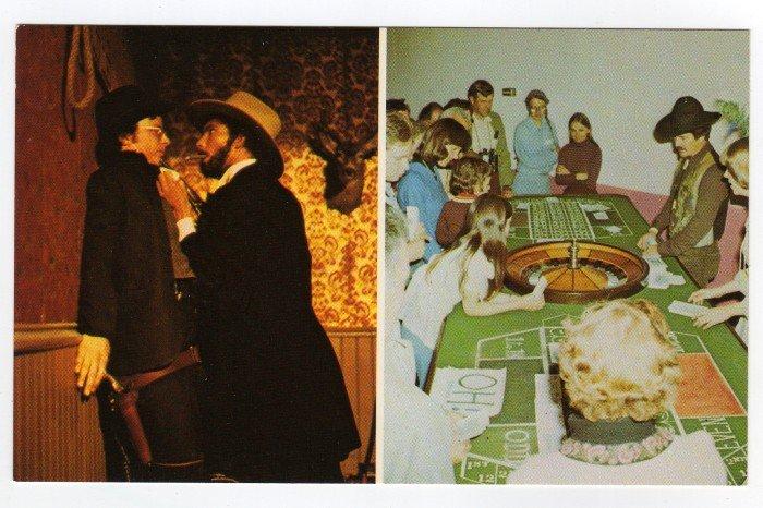 Skaguay, AK Vintage Postcard Days of '98 and Soapy Smith Show  Doug Hulk photo  #0398