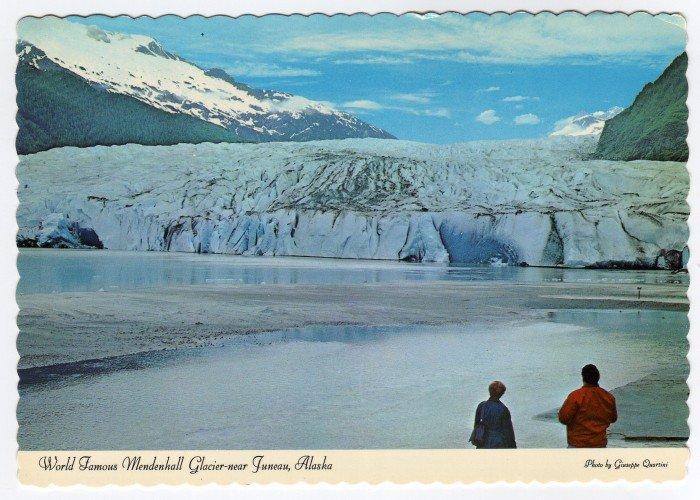 World Famous Mendenhall Glacier near Juneau, AK postcard  photo by Giuseppe Quartini  #0402