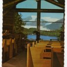 Chapel by the Lake, Auke Bay, AK Mendenhall Glacier  Photo Howard C. Robinson photo  #0406