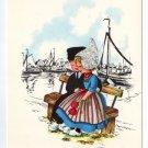 Nelis Nurseries Holland MI Vintage Advertising Postcard Young Couple  #0420