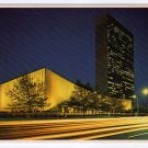 United Nations Building night view Postcard   #0441