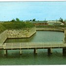 East Gate Fort Monroe Postcard  Old Point Comfort VA  Fort Monroe Casemate Museum  #0465