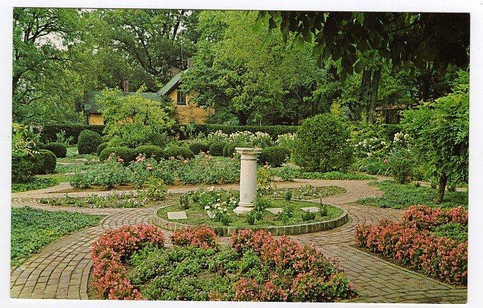Ashland Garden Lexington, KY Postcard Home of Henry Clay W.M. Cline Co. Photo  #0454