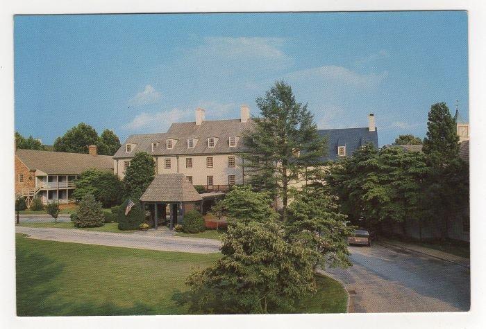 The Boar's Head Inn And Sports Club  Charlottesville, VA postcard Mobil four 4 star resort   #0482