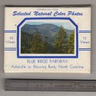 10 Mini view cards Blue Ridge Parkway Mailable Package dated 1955 - 1957   #0485