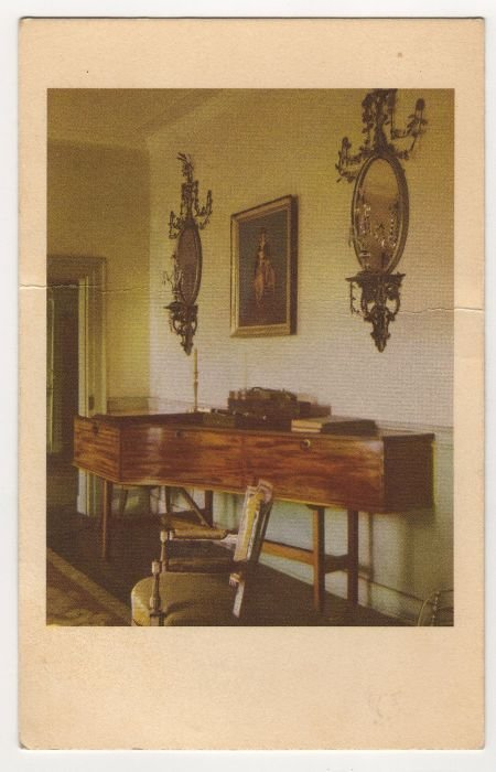 Music Room at Mount Vernon postcard #0498