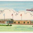 Hilton Airport Inn Nashville TN Postcard Plastichrome 1960s #0501