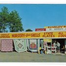 BUNKLEY'S NOVELTY SHOP Theodore, Alabama AL Postcard U.S. Highway 90 Mobile #0291