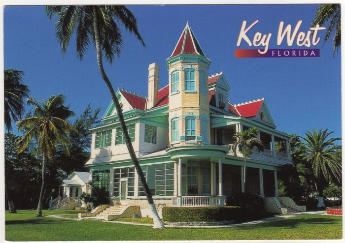 Southernmost House in the US Key West Florida John Gordash photo  4Y12  FL FLA  #0525