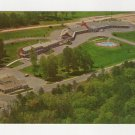 University Motel and Pines Restaurant Chapel Hill NC Postcard vintage 1960s Dexter #0534