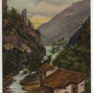 Vintage Landscape Th E L Theochrome - Serie No 1189 Postcard Germany Postmarked 1910 #0542