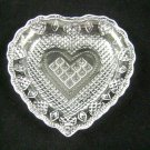 Vintage Avon Heart and Diamond Crystal Soap Dish