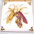 Avon Harvest Bounty Ceramic Tile for Autumn Corn