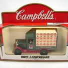 Lledo Campbell's 100th Anniversary Die-Cast Delivery Van