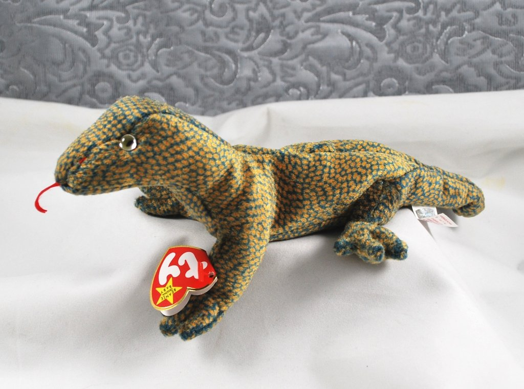 Ty Scaly The Lizard Beanie Baby Retired 4263