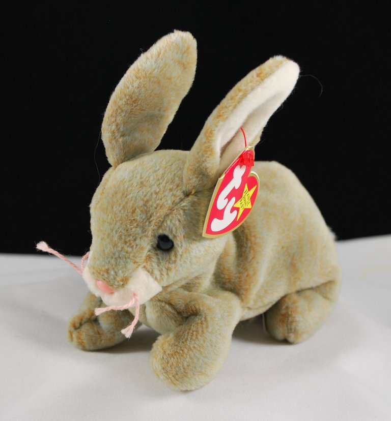 Retired Ty Nibbly The Bunny Beanie Baby 4217