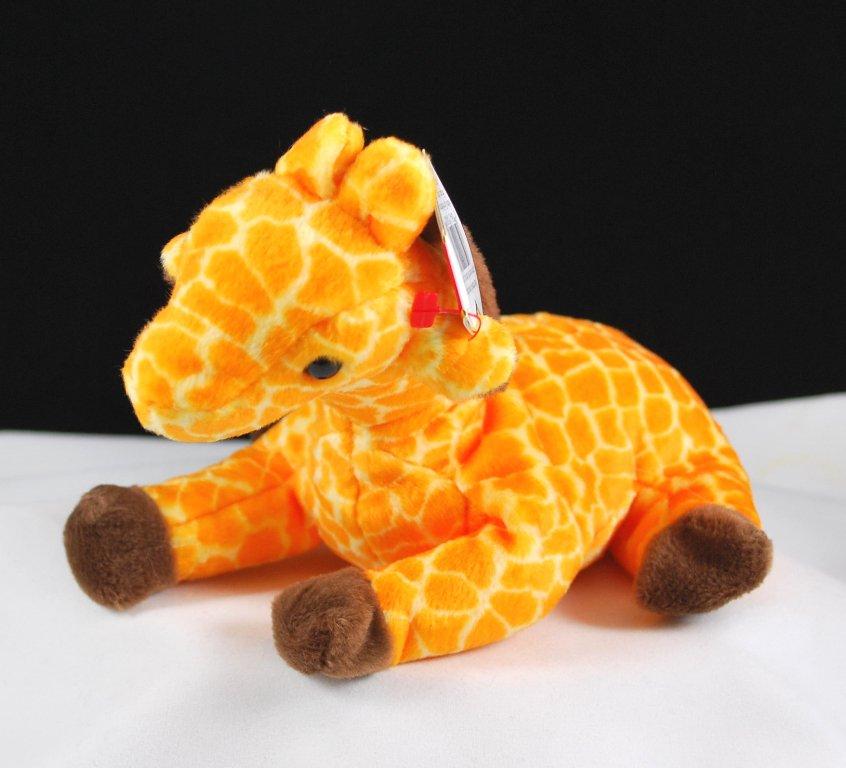 Ty Twigs The Giraffe Retired Beanie Baby 4068
