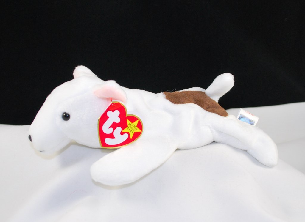 Retired Ty Butch The Bull Terrier Beanie Baby 4227